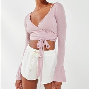 Urban Outfitters Wrap Crop Top